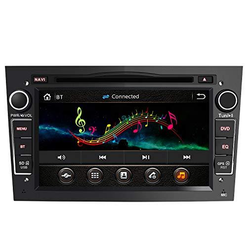 AWESAFE 2-DIN Autoradio mit Navi für Opel, 7 Zoll Touchscreen Radio unterstützt Lenkrad Bedienung USB...
