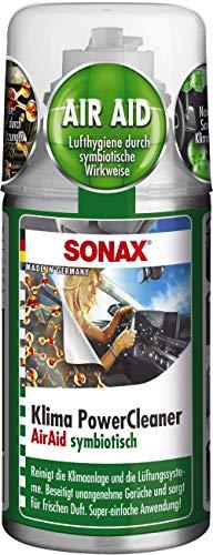 SONAX KlimaPowerCleaner AirAid symbiotisch (100 ml) sorgt schnell und einfach für langanhaltende...