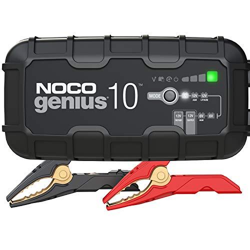 NOCO GENIUS10EU, 10A Vollautomatisches Intelligent Ladegerät, 6V und 12V Batterieladegerät,...