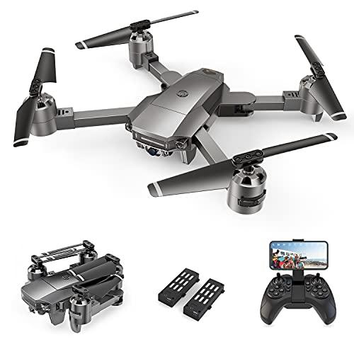 A15F Drohne mit 1080P-FPV-Kamera, WiFi-Quadcopter mit optischer Strömungstechnologie, Markierungs- und...