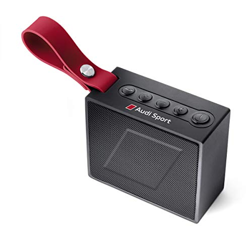 Audi Bluetooth Lautsprecher, schwarz/rot