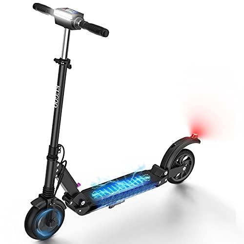 AZAMPA Elektroscooter Erwachsene 30km Elektro Roller 350W Elektroroller 30kmh E Roller mit LCD-Display...