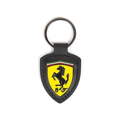 Scuderia Ferrari Schlüsselanhänger (Leder und Emaille)