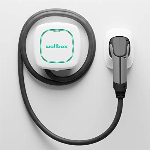 Wallbox Pulsar Plus 11 KW, 5 Meter, weiß, Stecker Typ 2, Bluetooth + WLAN + APP