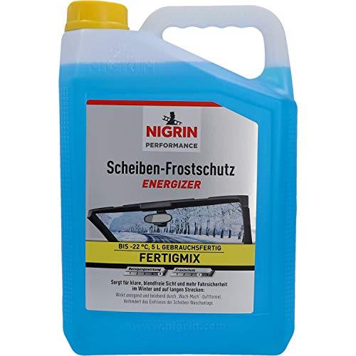 Nigrin 20563 Scheiben-Frostschutz, bis -22° C wirksam, schneller, schlierenfreier und effektiver...