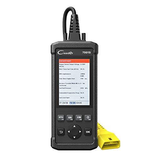 LAUNCH 7001S OBD-II Diagnosewerkzeuge OBD2 Diagnosegerät mit 4-Zoll Bildschirm, ABS/SRS Diagnose,...