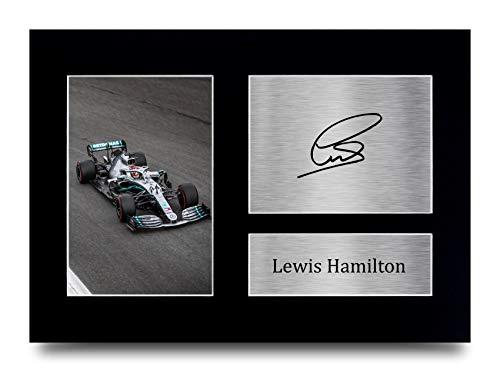 HWC Trading Lewis Hamilton A4 Ungerahmt Signiert Gedruckt Autogramme Bild Druck-Fotoanzeige Geschenk Für...