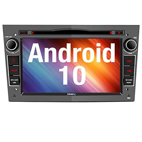 Vanku Android 10 Autoradio für Opel Radio mit Navi CD DVD Player Unterstützt Qualcomm Bluetooth 5.0...