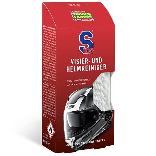 Dr. Wack - S100 Visier- & Helmreiniger 100 ml inkl. Mikrofasertuch I Premium Visier-Reiniger für alle...