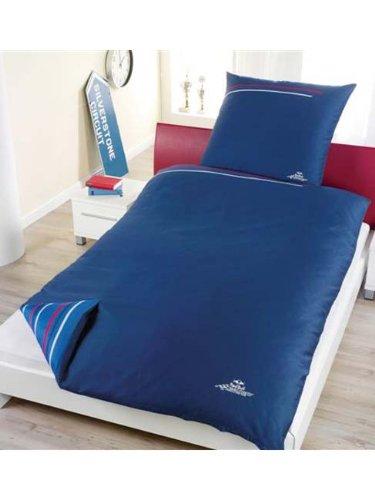 Red Bull Racing Bettbezug und Kissenbezug-Set, Blau 100% Baumwolle