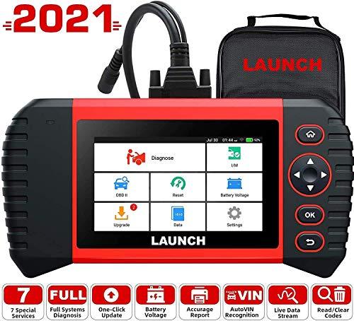 LAUNCH obd2 Diagnosegerät,CRP Touch Pro Elite mit systemweite Diagnose und 7 Servicefunktionen Öl EPB...