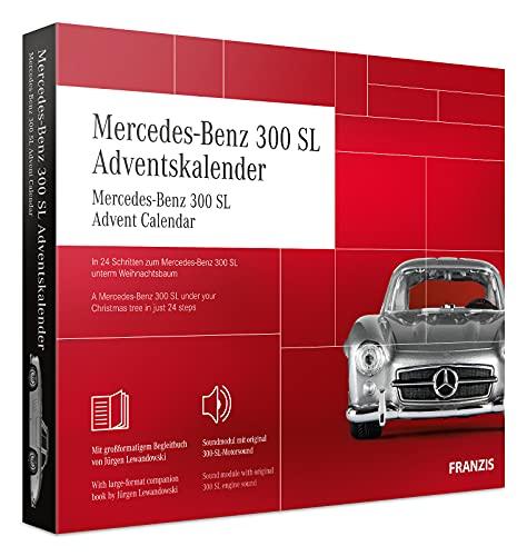 FRANZIS 67129 - Mercedes-Benz 300 SL Adventskalender 2020 – in 24 Schritten zum Mercedes-Benz 300 SL...
