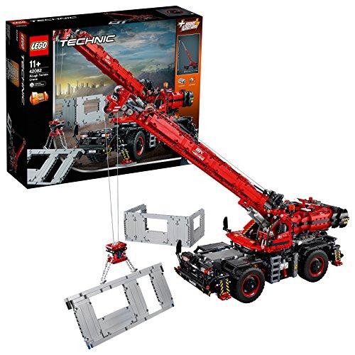 LEGO Technic Geländegängiger Kranwagen (42082), Bauspielzeug