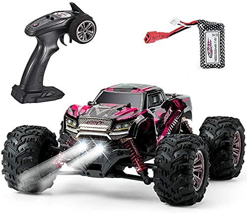 VATOS Ferngesteuertes Auto 4WD Elektro RC Auto 26 km/h Hochgeschwindigkeits 1:20 RC Monster Truck 2,4 GHz...