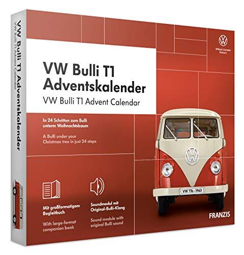 FRANZIS VW Bulli T1 Adventskalender 2020 | In 24 Schritten zum Bulli unterm Weihnachtsbaum | Das Kultauto...