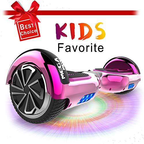 CITYSPORTS 6.5' Self Balance Scooter Elektro Skateboard mit Bluetooth Lautsprecher LED-Leuchten für...