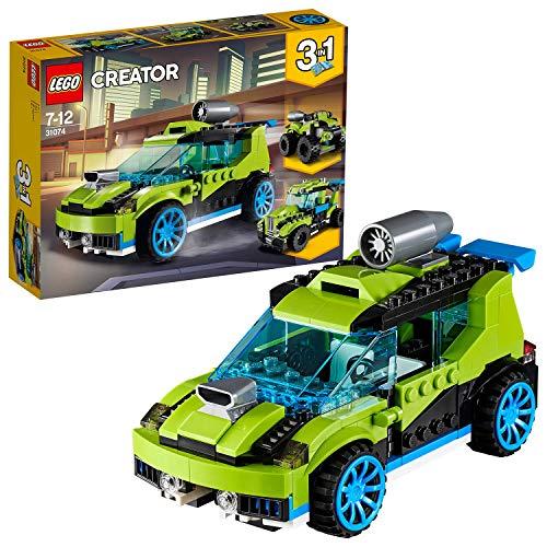 LEGO Creator 31074 - Raketen-Rallyeflitzer, Beliebtes Kinderspielzeug