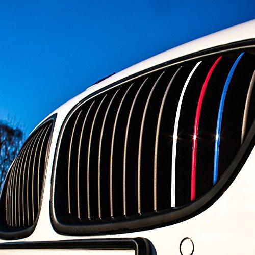 Motoking Nierenaufkleber - REFLEKTIEREND - 24-teiliges Autoaufkleberset, 4 reflektierende Farben im Set...