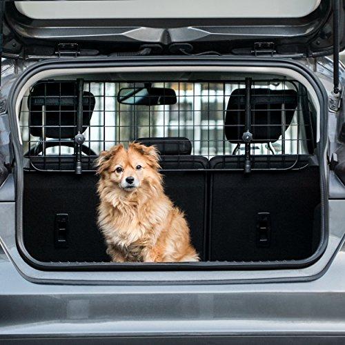 Heldenwerk® Universal Kofferraum Trenngitter für Hunde - Auto Hundegitter zum Transport für deinen...