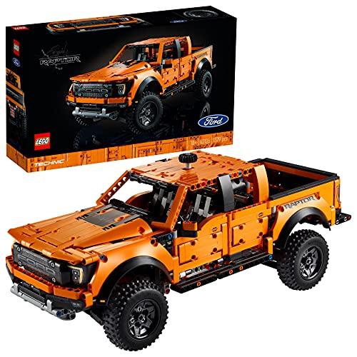 LEGO 42126 Technic Ford F-150 Raptor Pick-Up-Truck, Modellauto für Erwachsene, Exklusives Sammlermodell,...