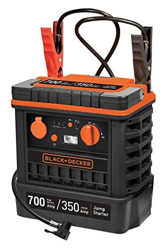 Black + Decker JS700TKCB Starter + Kompressor 350A mit Tasche, 12V für Auto Black and Decker