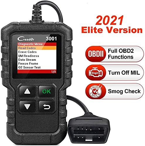 LAUNCH Creader 3001 obd2 diagnosegerät, Automotor Fehler-Code Scanner für Europäische OBD II/EOBD...