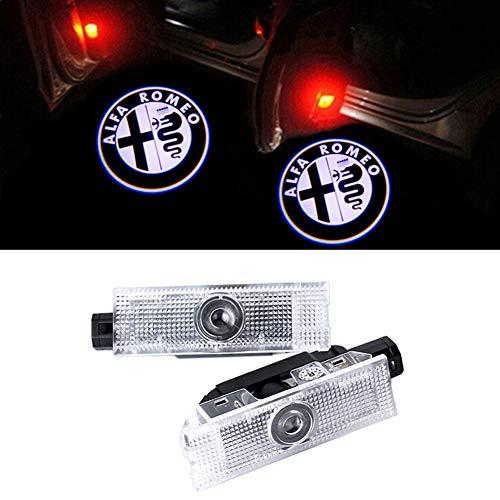 GEEANDLY 2 Stück Autotür Logo Türbeleuchtung Einstiegsleuchte Projektor Licht Willkommen Licht