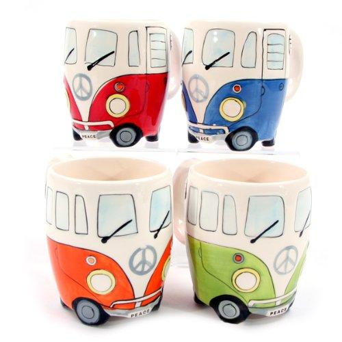 VW Bulli Tasse (4 verschiedene Farben)