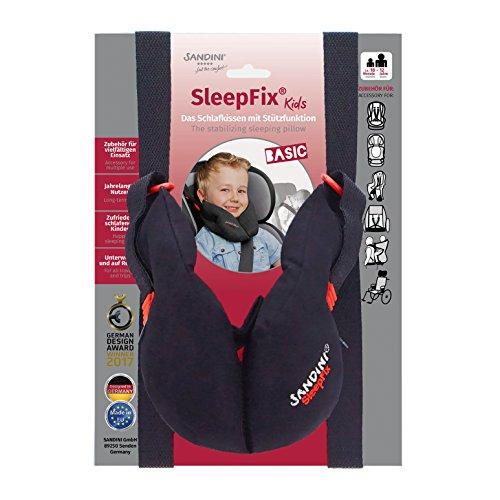 SANDINI SleepFix Kids BASIC – Kinder Schlafkissen/Nackenkissen mit Stützfunktion –...