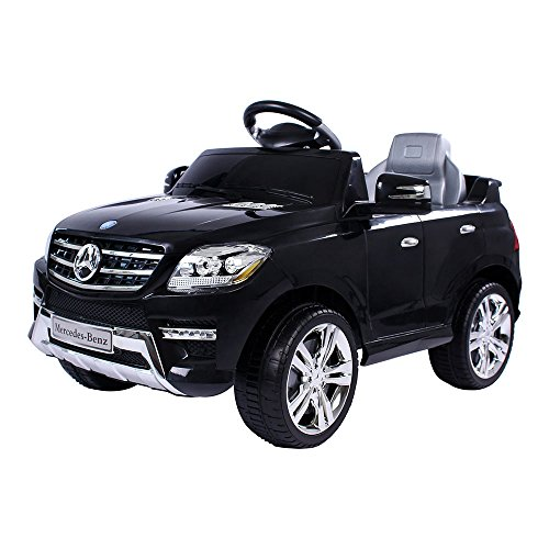 Mercedes-Benz ML Kinder Auto Elektroauto Kinderauto Elektrofahrzeug Kinderfahrzeug mit 2 Motoren MP3...
