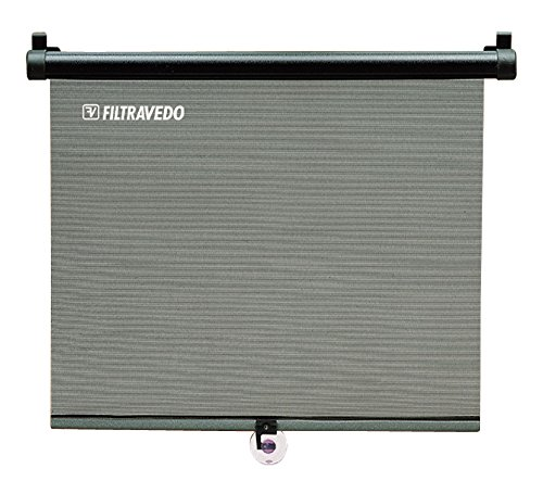 Divers Sonnenschutzrollo für Seitenfenster 65x55 cm (Länge x Höhe)