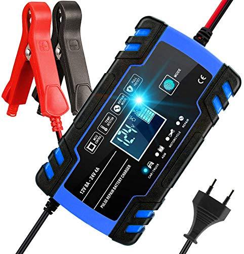 Aibeau Batterie Ladegerät Auto, Autobatterie Ladegerät 8A/24V Batterieladegerät Auto...
