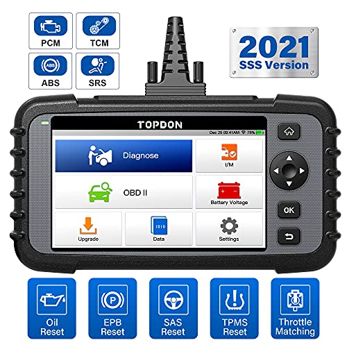 TOPDON AD500 OBD2 Diagnosegerät deutsch,OBD-ii diagnosewerkzeuge mit obd2 Mode10 Fehlerspeicher...