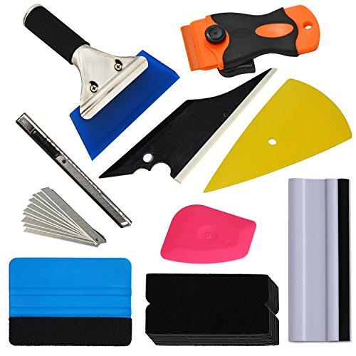 Ehdis Folierungs Werkzeug Kit, Rakel Set, Auto Folierung Set, Vinyl Wrapping Tool, für Car Wrapping,...