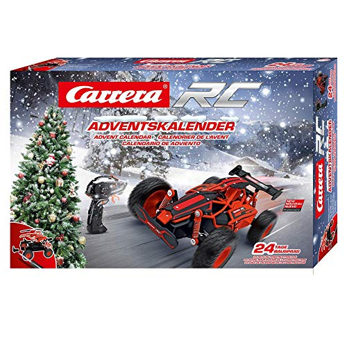 Carrera RC 370160135 Advent Calendar-2,4 GHz Car, Rot