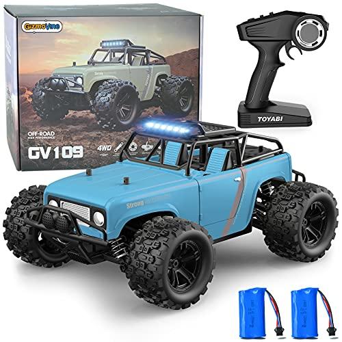 GizmoVine Ferngesteuertes Auto, 4WD 40KM / H 2,4 GHz Hochgeschwindigkeits Hobby RC Auto,...