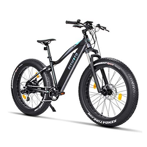 Fitifito FT26 Elektrofahrrad Fatbike E-Bike Pedelec, 36V/48V 250W Heckmotor, 36V/48V 13Ah 468W/624W...