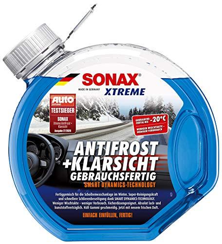 SONAX XTREME AntiFrost+KlarSicht Gebrauchsfertig bis -20° C (3 Liter) schneller, schlierenfreier und...