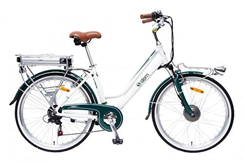 STEM Elektrofahrrad E-Bike Samsung Lithium Akku 26' 250W Shimano 6-Gang Elektromotor inkl. USB,...