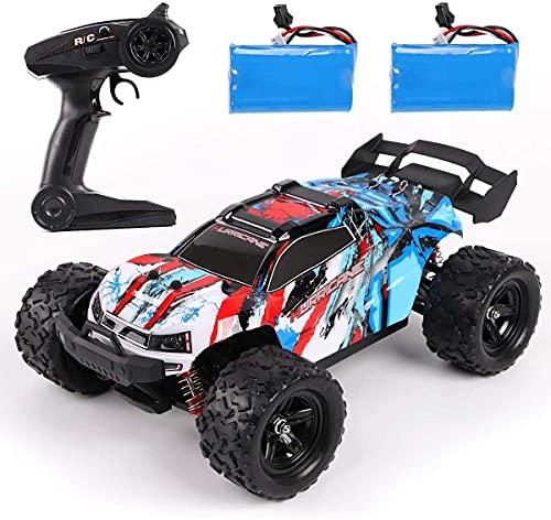 REMOKING RC Auto Spielzeug, 2,4 Ghz 4WD Ferngesteuertes Offroad Auto Spielzeug, High Speed Racing Truck,...
