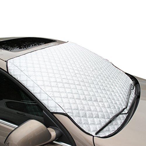FREESOO Autoscheibenabdeckung Frontscheibenabdeckung Sonnenschutz Scheibenabdeckung Auto...
