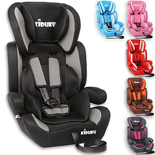 KIDUKU® Autokindersitz Kindersitz Kinderautositz, Sitzschale, universal, zugelassen nach ECE R44/04, in...