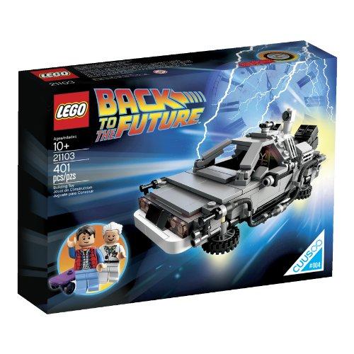 LEGO 21103 Zurück in die Zukunft – Die Delorean Zeitmaschine