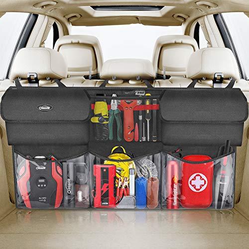oasser Kofferraum Organizer Auto mit Wasserdichten Taschen Auto Organizer Kofferraumtasche Autotasche...