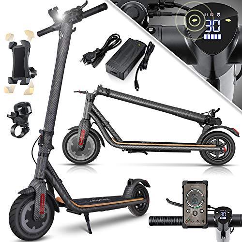 KESSER® Elektro Scooter 700 W E-Scooter mit APP & Bluetooth E-Roller Elektroroller Faltbar 9,5 Zoll...