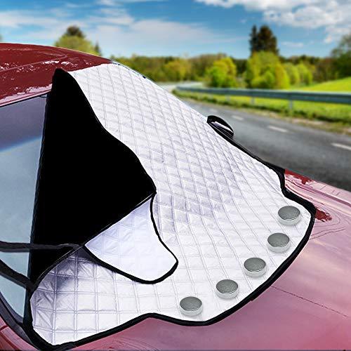 Bramble Magnetische Auto Windschutzscheibe Sonnenschutz, Frontscheiben Abdeckung für alle Jahreszeiten -...