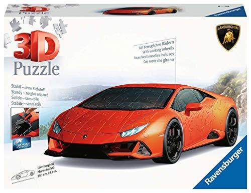 Ravensburger 3D Puzzle 11283 - Lamborghini Huracán EVO - 3D Puzzle für Erwachsene und Kinder ab 8...