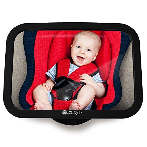 Bruchsicherer Auto-Rückspiegel für Babyschale