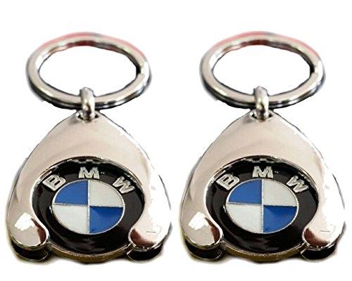 Original BMW Schlüsselanhänger Einkaufs Chip Einkaufswagen Einkaufschip 80272446749 1er 2er 3er 4er 5er...