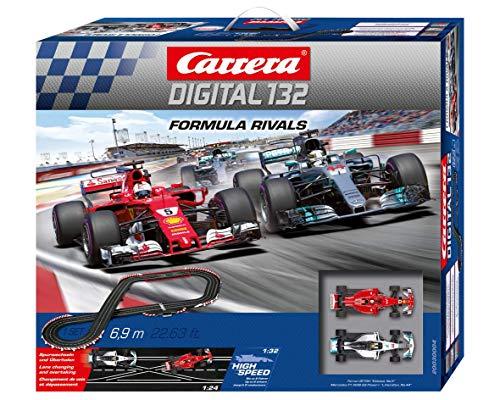 Carrera DIGITAL 132 Formula Rivals Autorennbahn Set